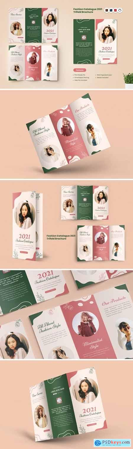 Fashion Catalogue 2021 Trifold Brochure
