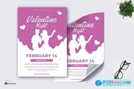 Valentine Night vol.01 - Poster TY