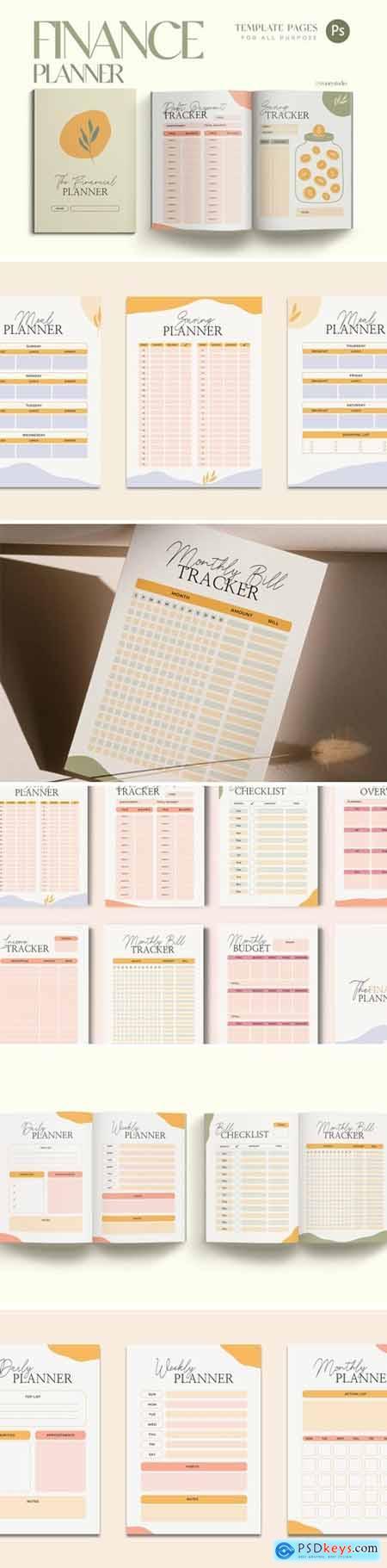 Financial Workbook Planner