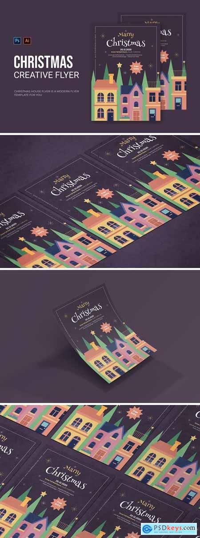 Christmas House - Flyer