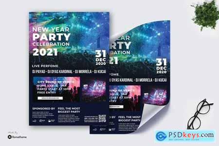 New Year Party vol.02 - Poster TY
