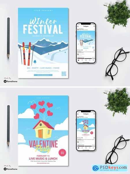 Valentine Party vol.01 - Flyer TY
