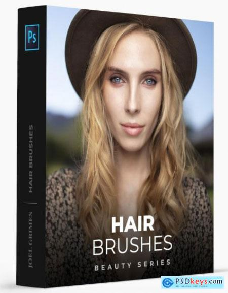 Joel Grimes Photography - Hair Photoshop Brushes + Tutorial Free Download Source