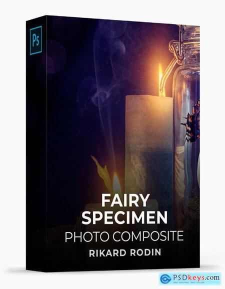Rikard Rodin - Fairy Specimen Photo Composite Course Free Download Source