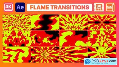 Flame Transitions - After Effects 29849605