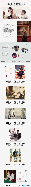 Rockwells Art Procreate Brushes 5500528