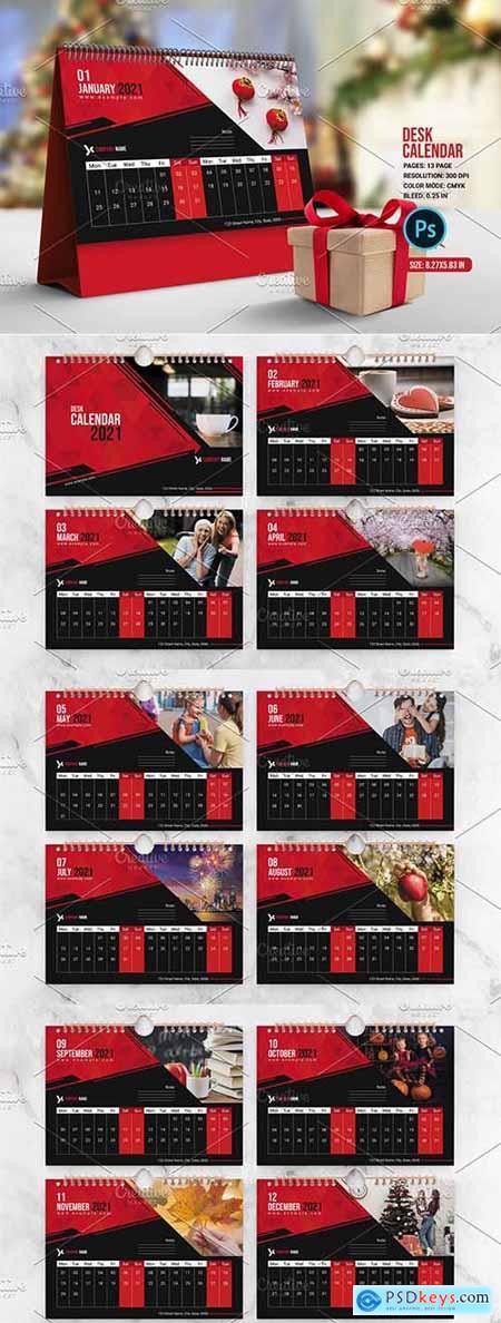 Desk Calendar V01 5420460