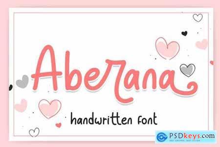 Aberana - Lovely Font