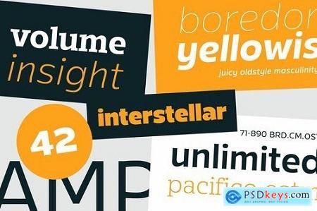 Mensch 32 Fonts of Sans & Serif 5675061