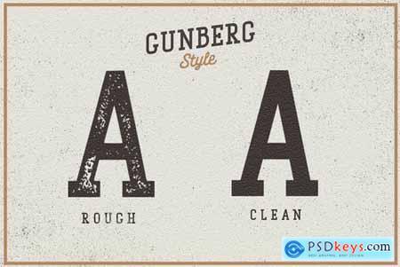 Gunberg Slab Serif 4870501