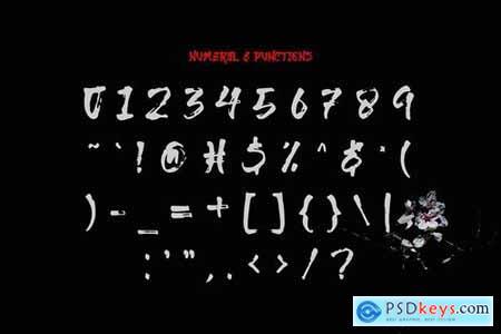 Genjiro - Japanese Font