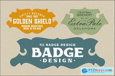 Vintage Badge Design Font