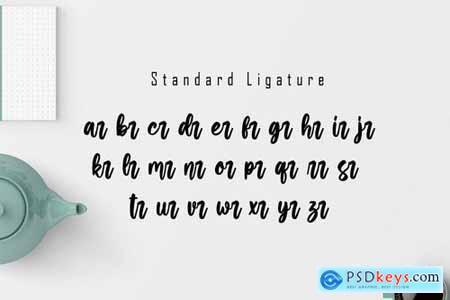Jartails - Modern Calligraphy Font