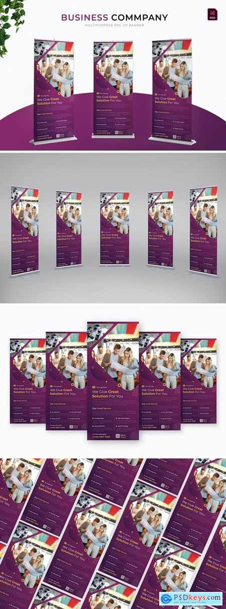 Business Company - Roll Up Banner