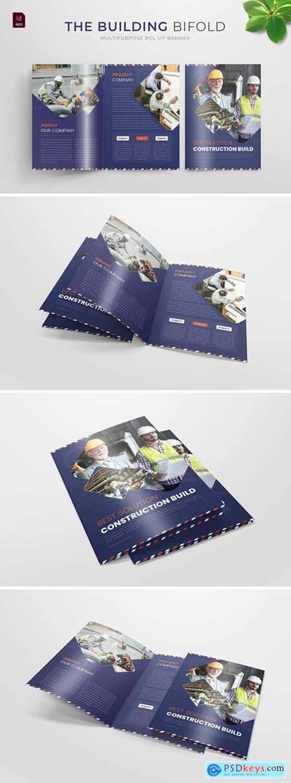 Building Construction - Bifold Brochure