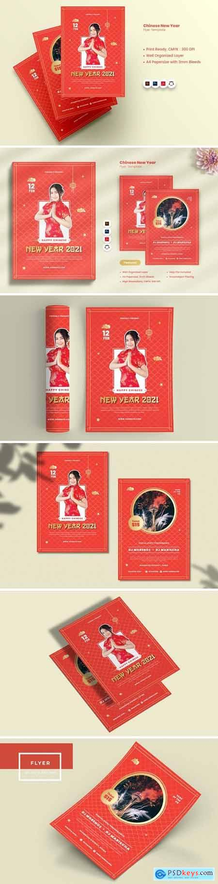 Chinese New Year Flyer985