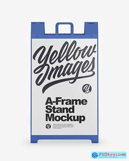A-Frame Stand Mockup 72365