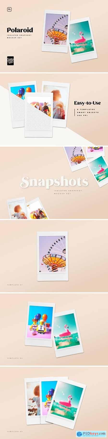 Polaroid Snapshot Picture Mock-ups 5029214