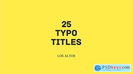 Los Altos 25 Colorful Animated Typo 11724370