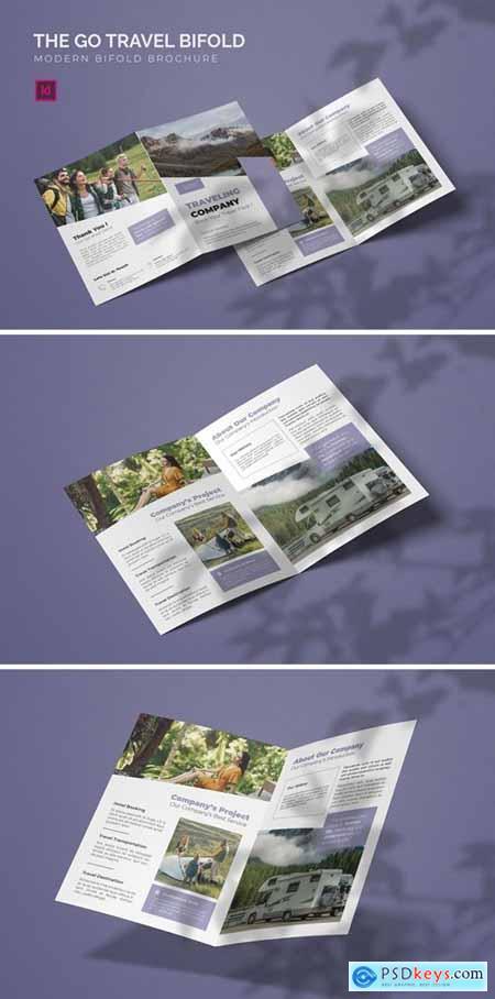 Go Travel - Bifold Brochure