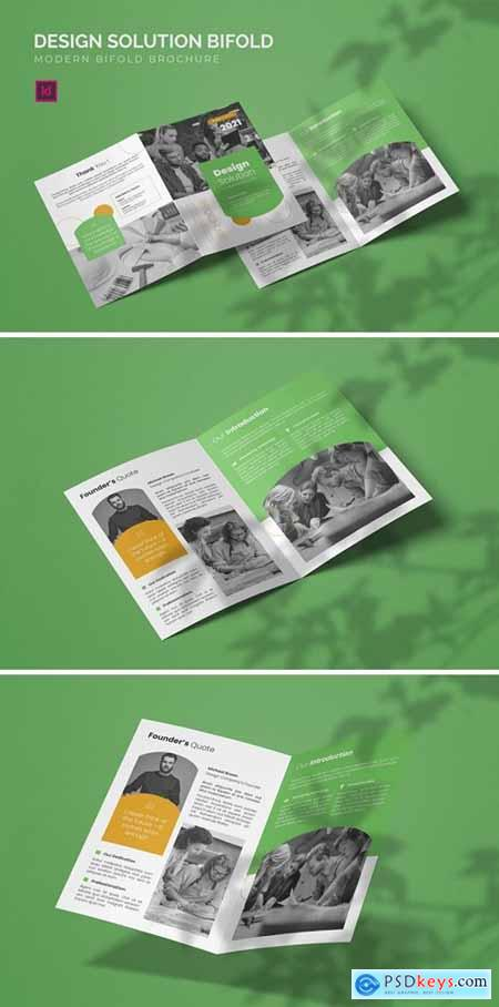 Design Solution - Bifold Brochure