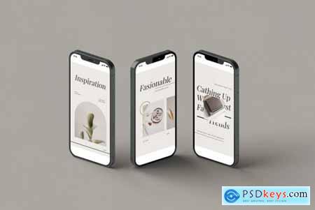 Phone 12 Showcase Mockup Vol.2