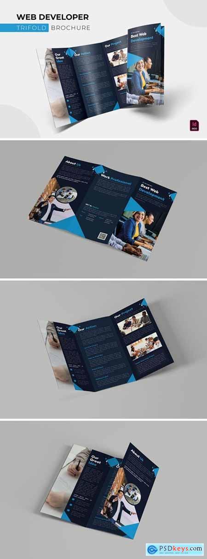 Web Developer - Trifold Brochure