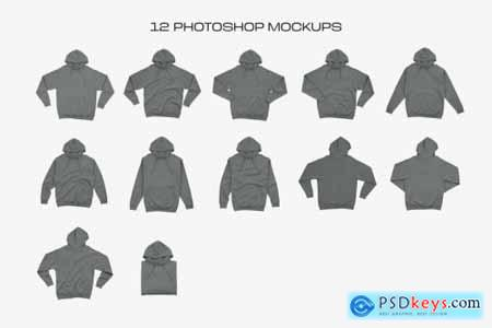 Independent SS4500 Hooded Mockups 5596372