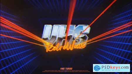 Retro VHS Logo 24647787