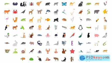 100 Animals & Birds Icons 29885627