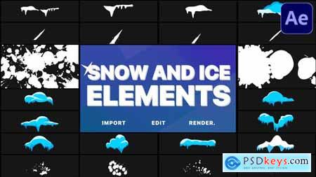 Snow And Ice Elements - After Effects 29779680