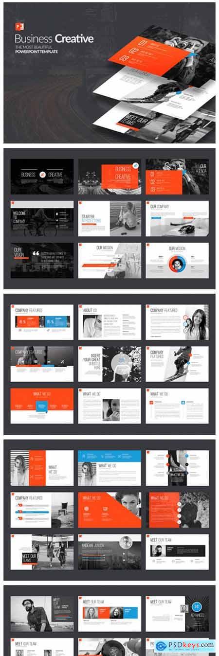 Business Creative PowerPoint 7153962