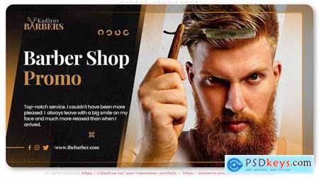 Barber Shop Promo 29876704