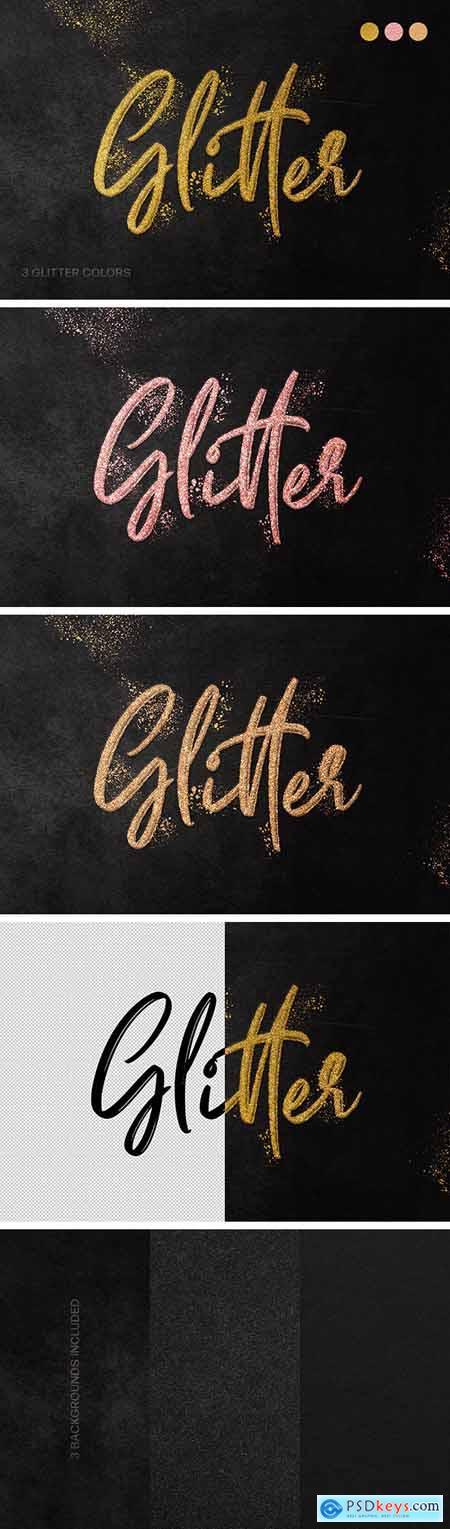 Fancy Glitter Text Effect 29771442