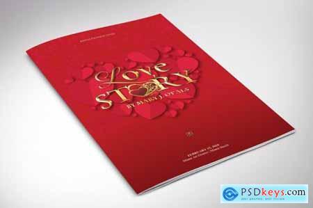 Valentines Love Story Program Word 562171