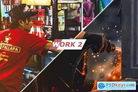 Work Photoshop Actions 5435060