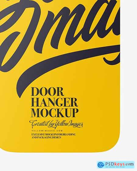 Door Hanger Mockup 72867