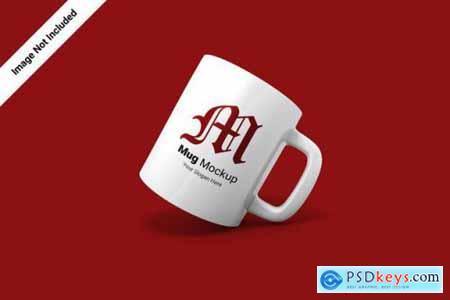 Ceramic mug mockup