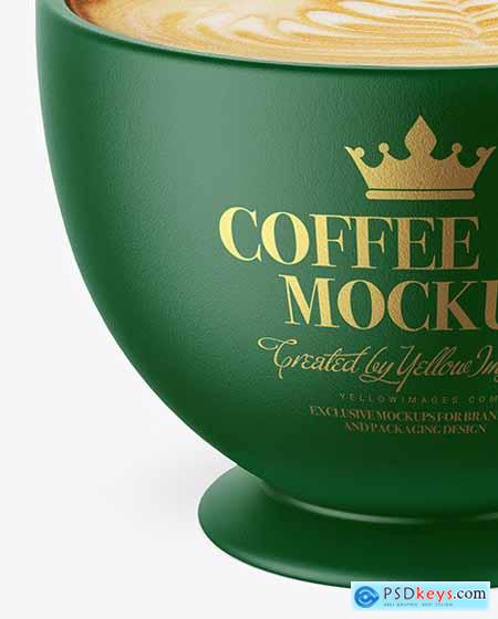 Ceramic Coffee Cup Mockup 72916