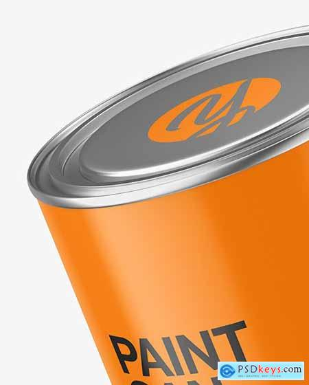 Matte Paint Can Mockup 72855