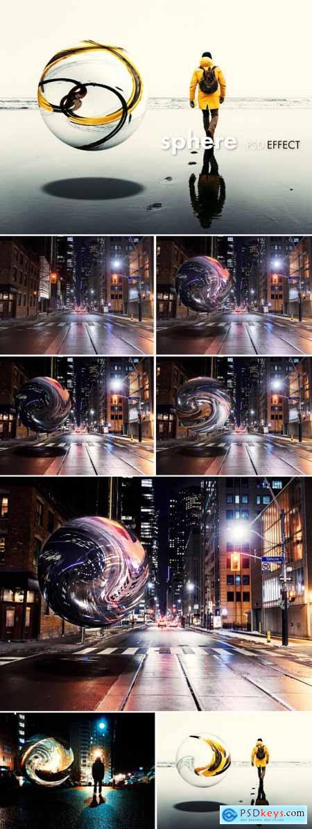 Sphere Effect Mockup 402361689