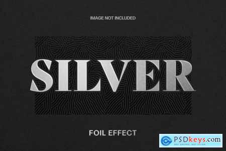 Foil Text Effect Template