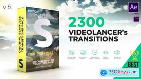 Videolancers Transitions Original Seamless Transitions Pack V8 18967340