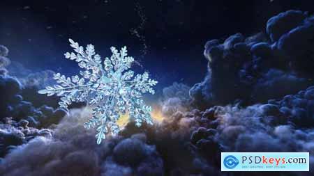 Christmas Snowflake Intro 29640932