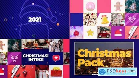Merry Christmas Intro 29620343