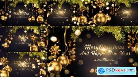 Golden Christmas Wishes 4K 29651275