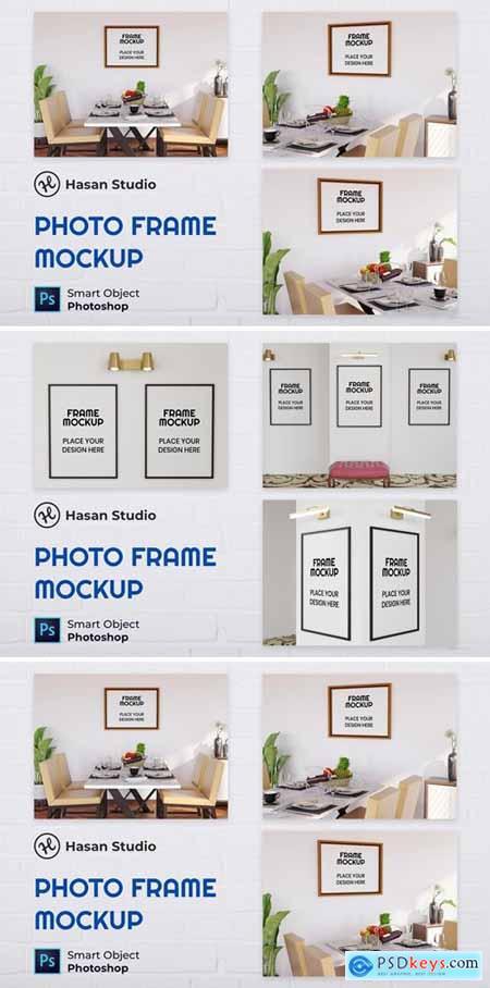 Blank Photo Frame Mockup - Nuzie