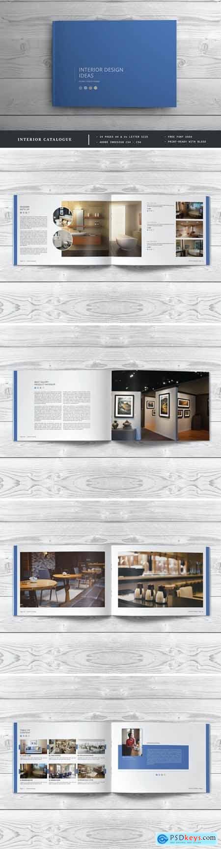 Interior design Brochure - Catalog Template