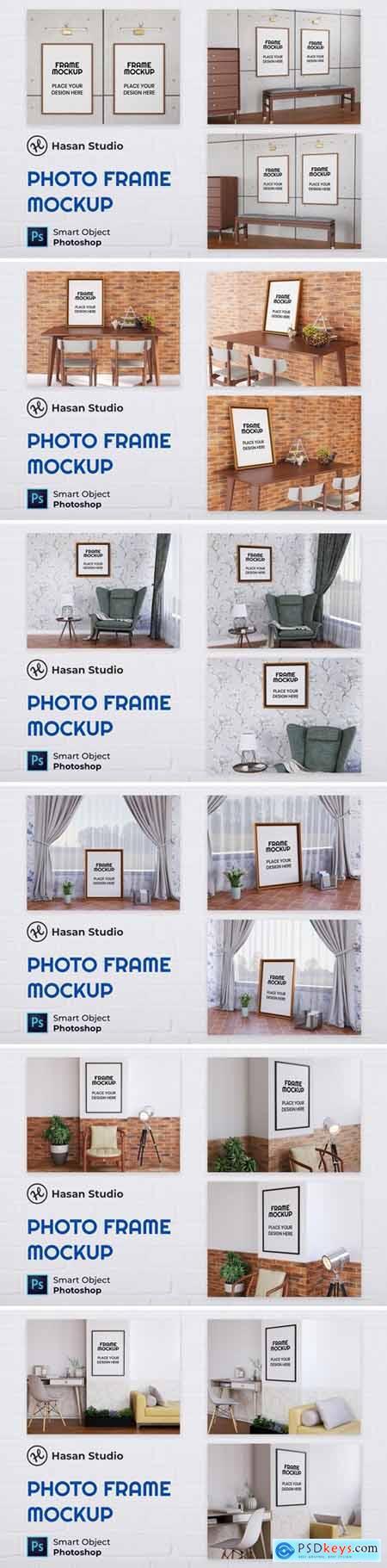 Blank Photo Frame Mockup - Nuzie687