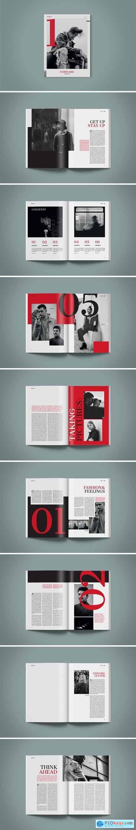 Magazine Template - Forward